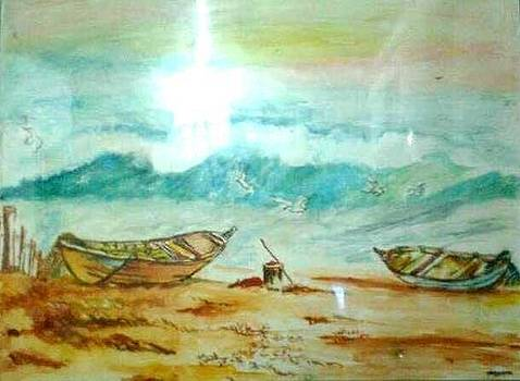 Lonely Ocean 1 by Asm Ambia Biplob