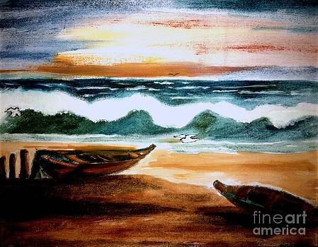 Lonely Ocean by Asm Ambia Biplob