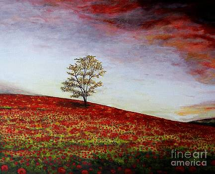 Lonely Tree by Judy Kirouac
