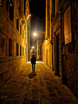 Lonely Walk Home by Michael Pickett