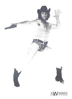 Lonesome Cowboy by Monica Warhol