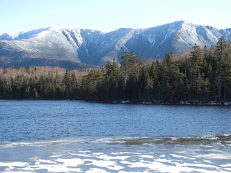 Lonesome Lake New Hampshire by Bucko Productions Photography