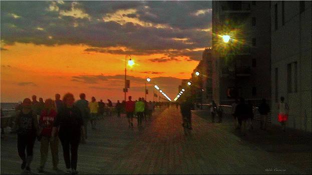 Long Beach Boardwalk by Mikki Cucuzzo