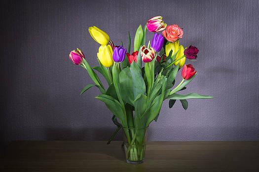 Long Exposure Flowers by Musa GULEC