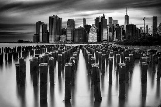 Long Exposure Manhattan  by Chad Weisser