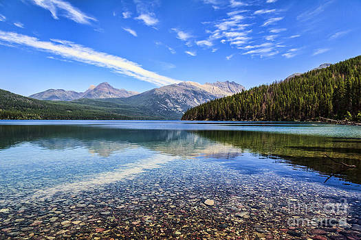 Long Knife Peak at Kintla Lake by Scotts Scapes
