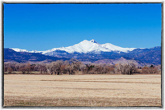 Longs Peak by Tony Boyajian