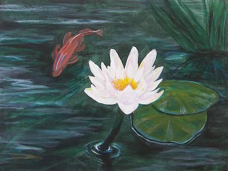 Lon's Pond by Lynne Rene