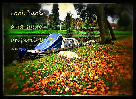 Look back and smile on perils past by Yvon van der Wijk