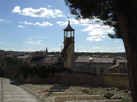 Look Out Tower On The Approach To Beaucaire Castle by Sandra Muirhead