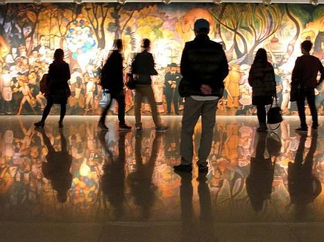 Alfred Ng - looking at Diego Rivera