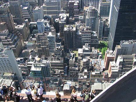 Looking at People Looking at NYC by Paul Thomas