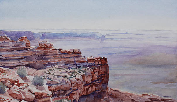 Jenny Armitage - Looking Down From Moki Dugway