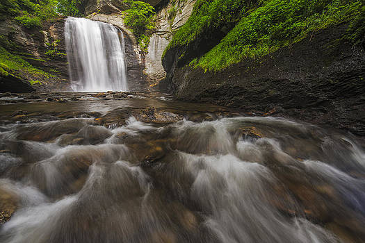 Looking Glass Falls by Joseph Rossbach