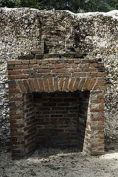 Lynn Palmer - Lopsided Brick Fireplace