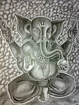 Lord Ganesha- the remover of obstacles by Bharati Subramanian