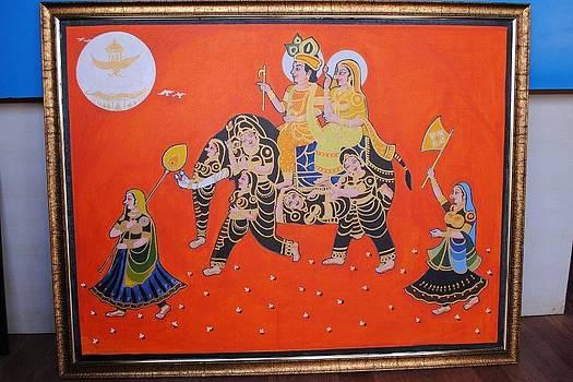 Lord Krishna by Ramesh Chandra