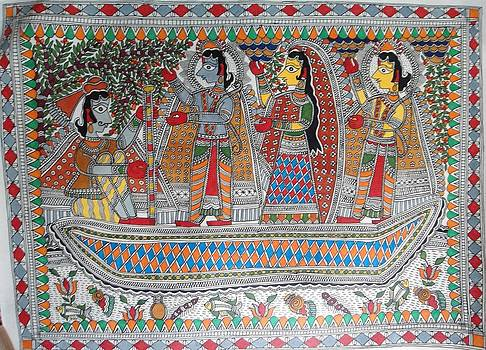 Lord Rama and Goddess Sita an epic from the Ramaya by Rajnish Kr