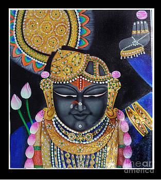 Lord Shri Nath  by Ravi Kumar