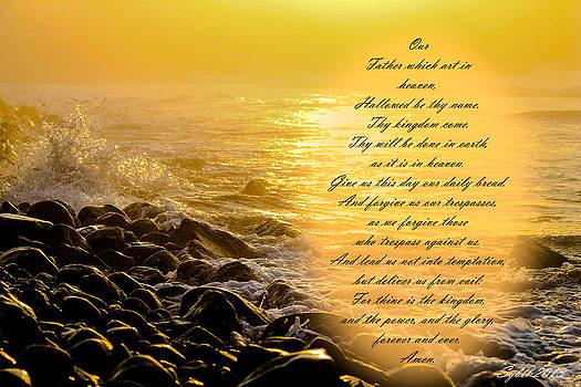 Lords prayer by Sybil Conley