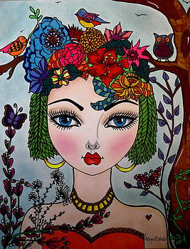 Lorraine by Maria  RUIZ