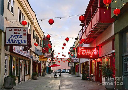 Jamie Pham - Los Angeles Chinatown plaza.