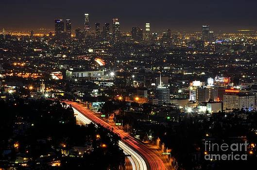Los Angeles Lights by Paul Noble