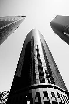 Paul Velgos - Los Angeles Office Buildings in Black and White