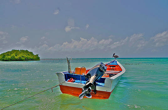 Los Roques Boatscape by Jay Campbell
