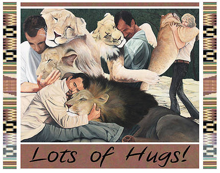 Lots of Hugs by Cory Calantropio