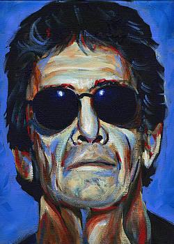 Lou Reed by Buffalo Bonker
