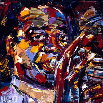 Louis Armstrong by Debra Hurd