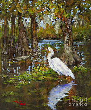 Louisiana Heron by Dianne Parks