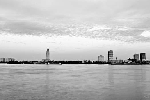 Scott Pellegrin - Louisiana State Capital from Across the River
