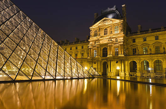 Paris Reflections by Russ Bishop