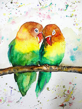 Love Birds by Charu Jain