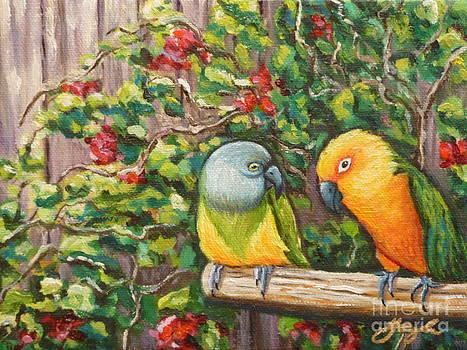 Love Birds by Gayle Utter