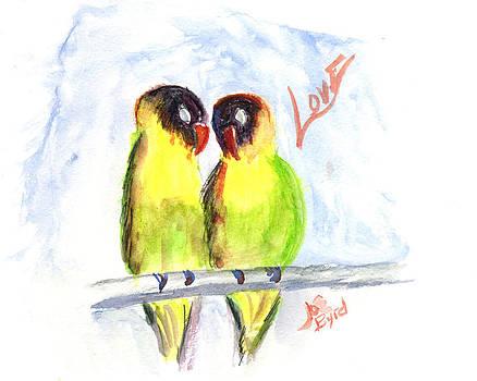 Love Birds by Joe Byrd