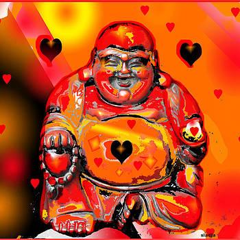 Love Buddha  by Sladjana Lazarevic