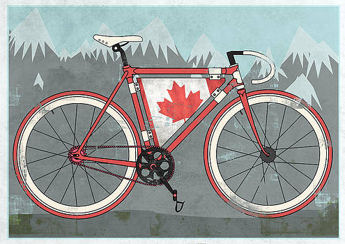 Love Canada Bike by Andy Scullion