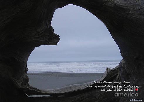 Love Found Haiku by ME Kozdron