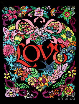 Love in beautiful colors by Photos by Staci Art by Douglas
