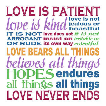 Love is Patient - Color  by Ginny Gaura