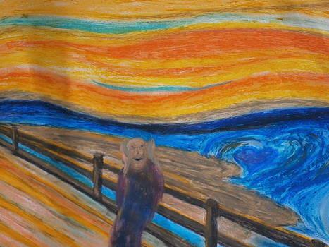 Love Scream by Tania  Katzouraki