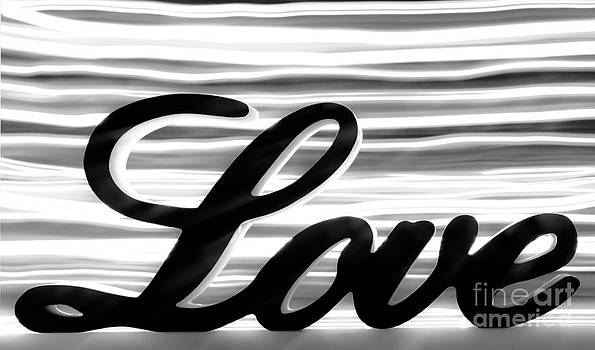 Simon Bratt Photography LRPS - Love sign with black and white stripes