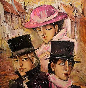 Love triangle by Oleg  Poberezhnyi