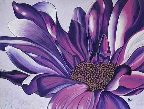 Lovely Purple by Shilpi Singh