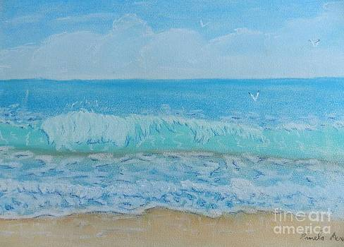 Lovely Summer Waves by Pamela  Meredith