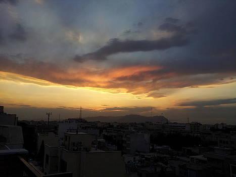 Lovely Sunset  by Arezoo Johari