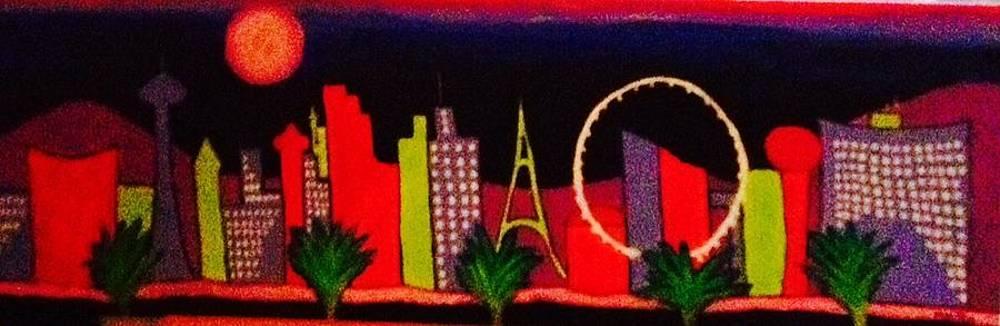 Loving Las Vegas I by Marlene MALKA Harris
